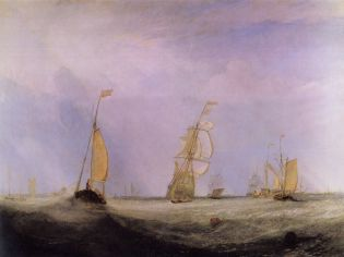 Turner - Seascape with Red Buoy