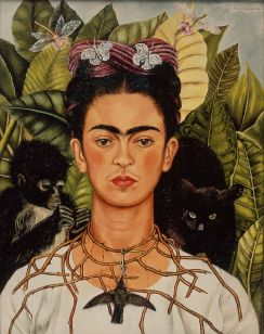 1_Frida Kahlo_Self Portrait with Thorns