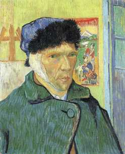 2_Vincent Van Gogh_Self Portrait with Bandaged Ear